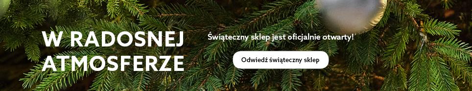 Świąteczny sklep jest otwarty HP Banner_Polish